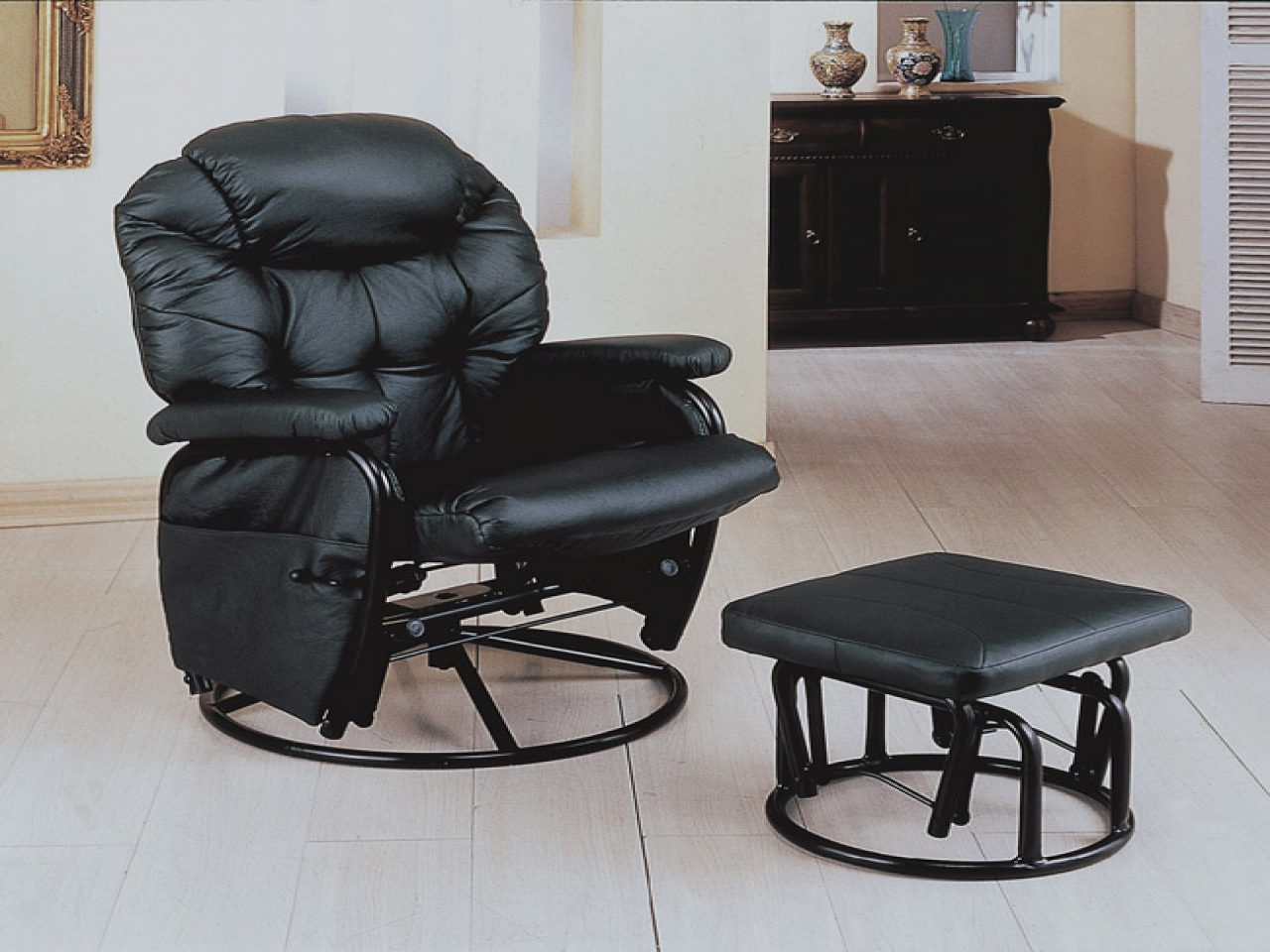 Image of: contemporary swivel recliner chairs