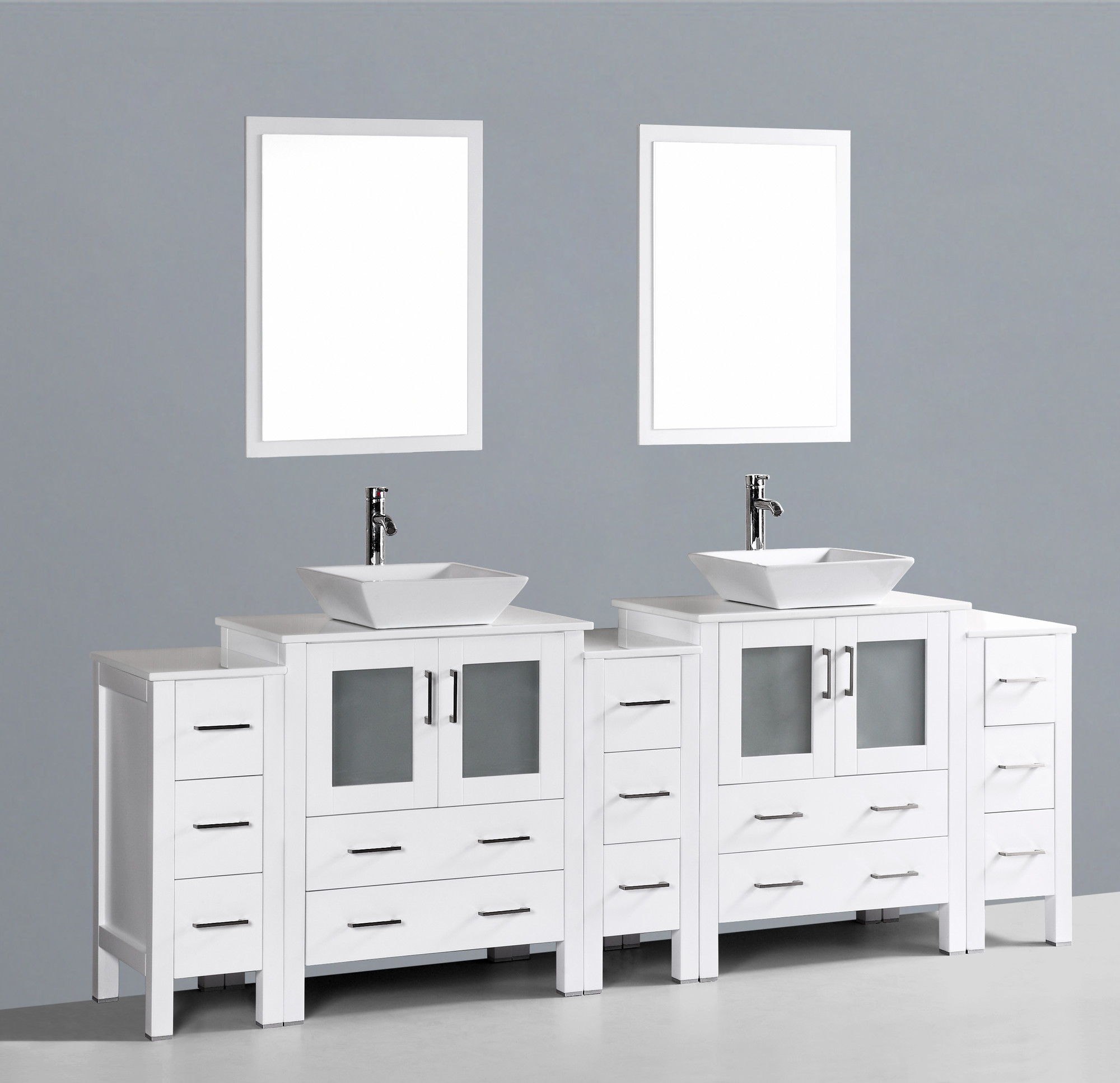 Image of: Contemporary Vanity Set with Mirror