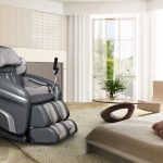 contemporary zero gravity massage chair