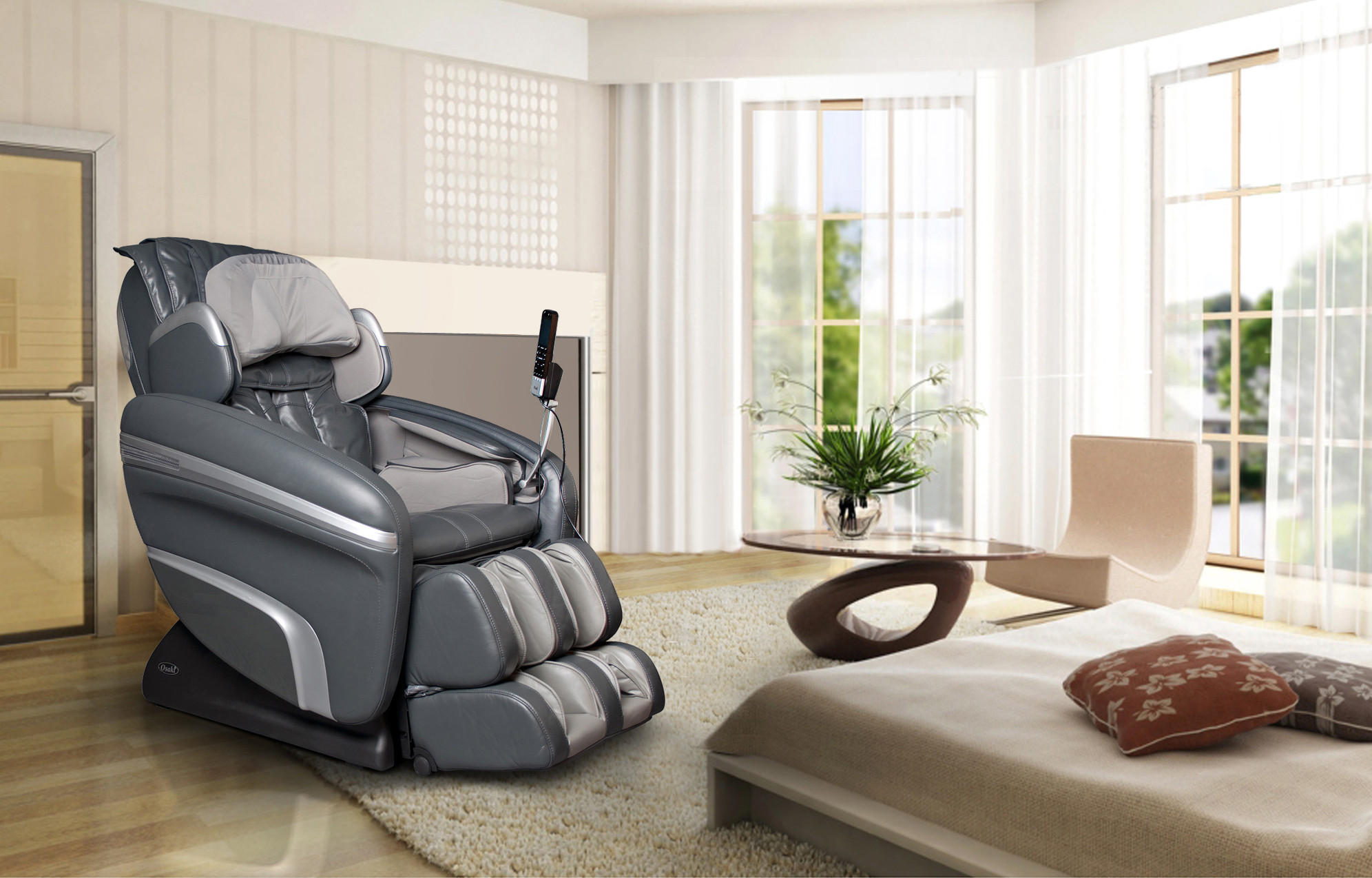 Image of: contemporary zero gravity massage chair
