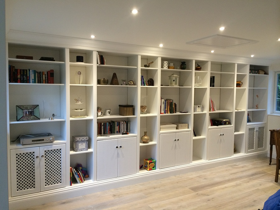 Contemporray Wall Unit Bookcase