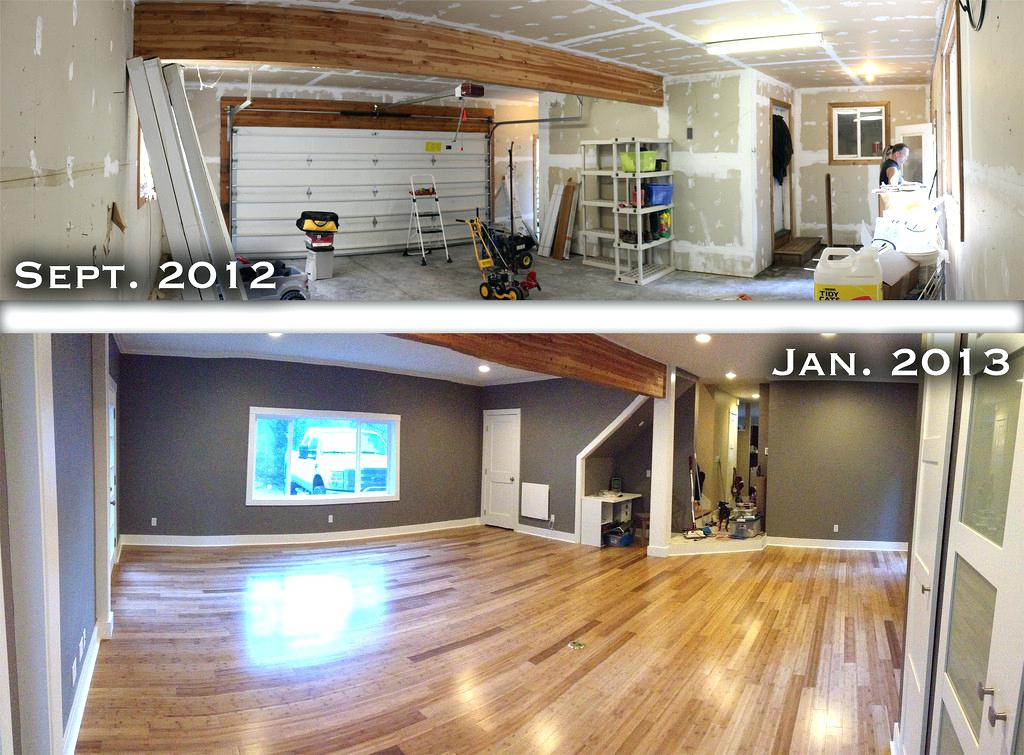 Image of: Converting A Garage Into A Room