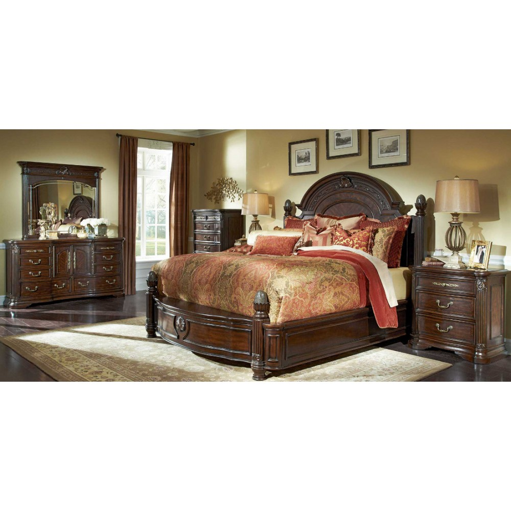 Image of: Cool Aico Bedroom Set