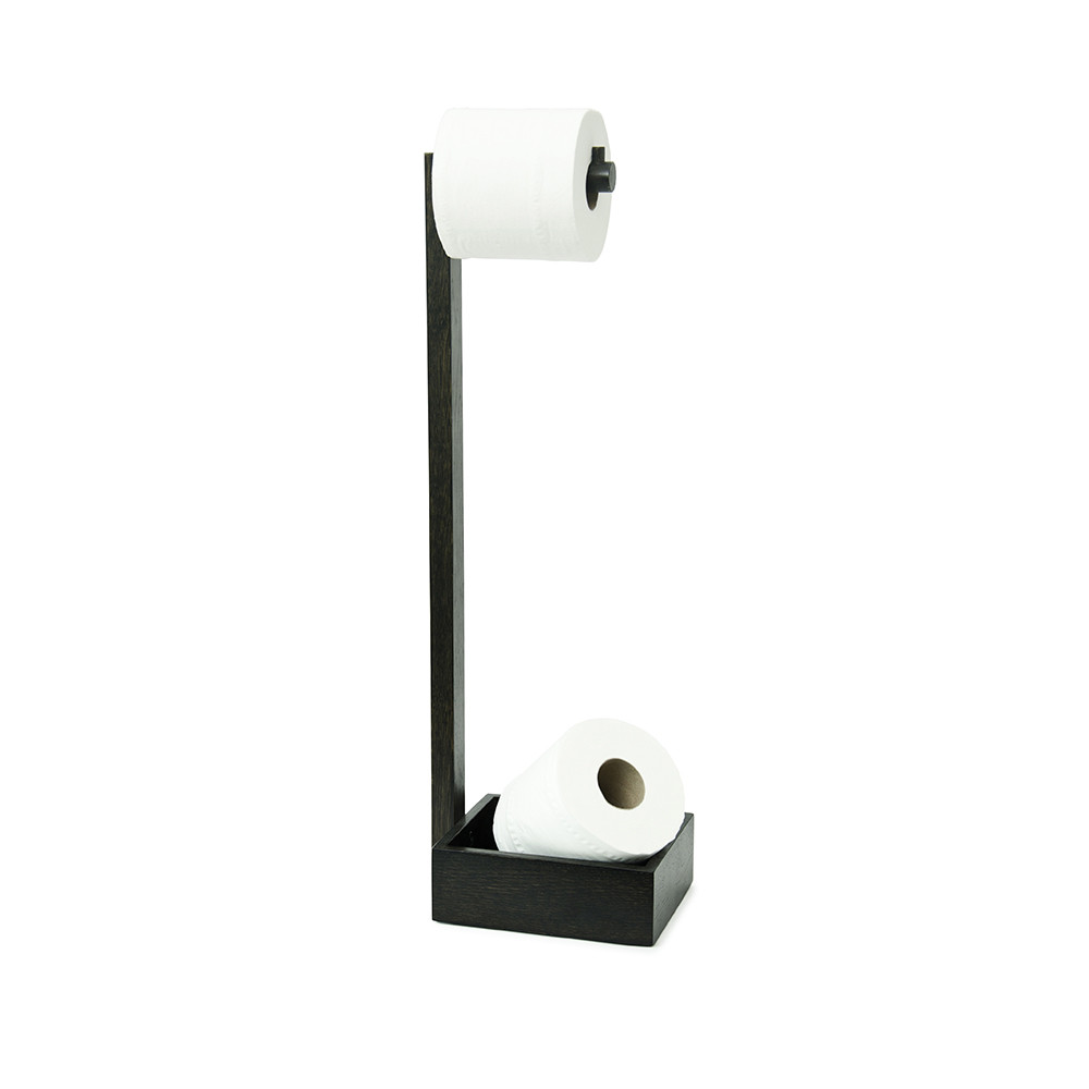 Image of: cool free standing toilet paper holder