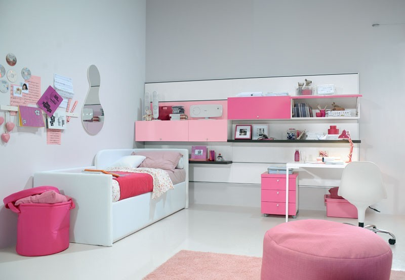 Image of: Cool Girl Bedroom Furniture