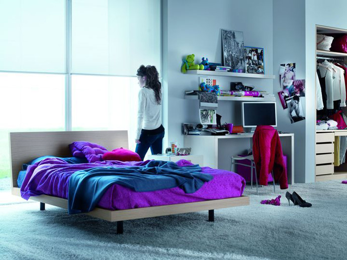 Image of: Cool Girl Bedroom Themes