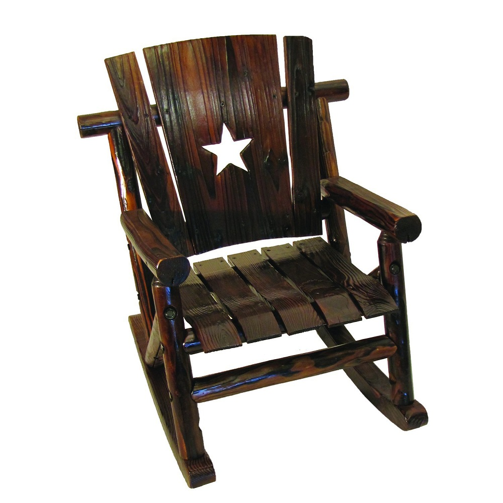 Image of: Cool Mission Style Rocking Chair
