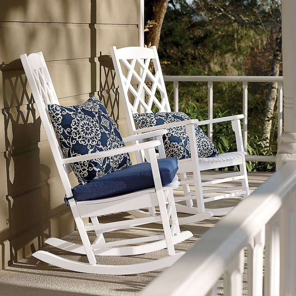 Image of: Cool Porch Rocking Chair
