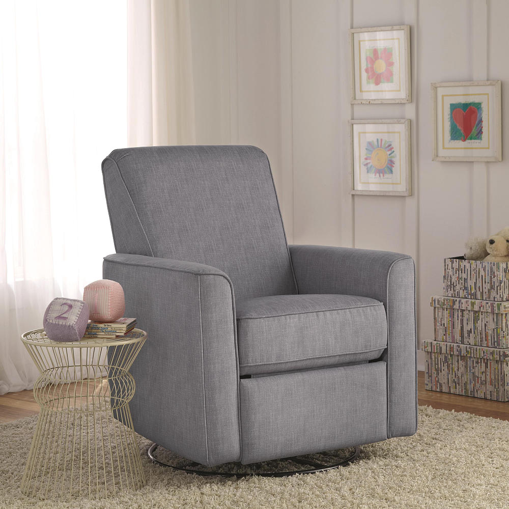 Image of: cool swivel glider chair