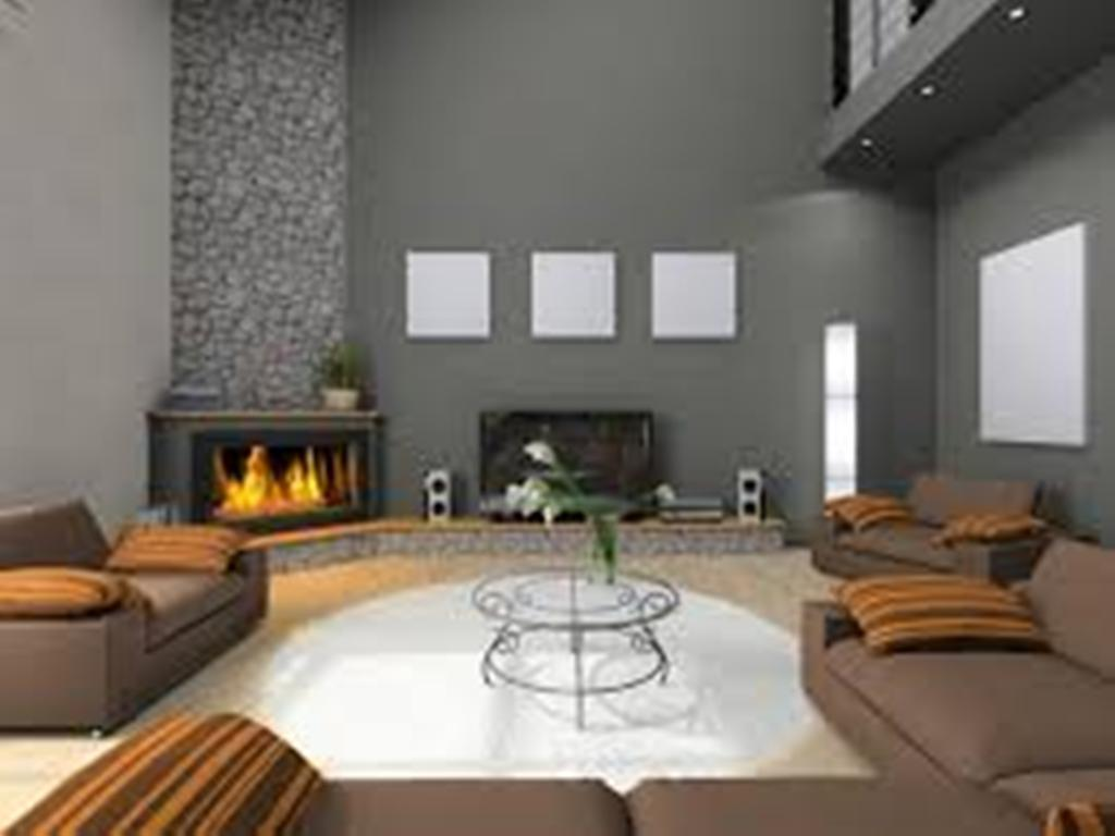 Image of: corner gas fireplace installation