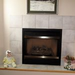 corner gas fireplace and tv stand