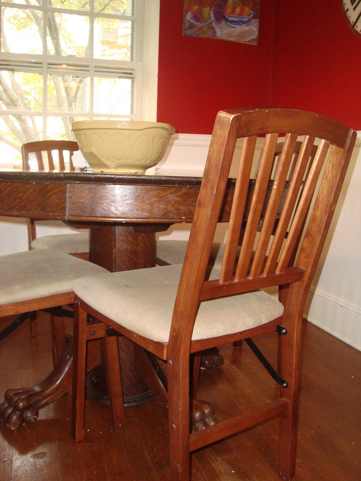 Image of: costco folding chairs dining room