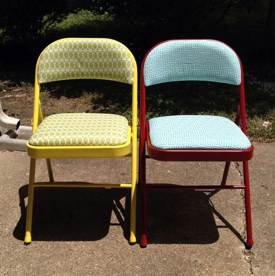 Image of: costco folding chairs painted