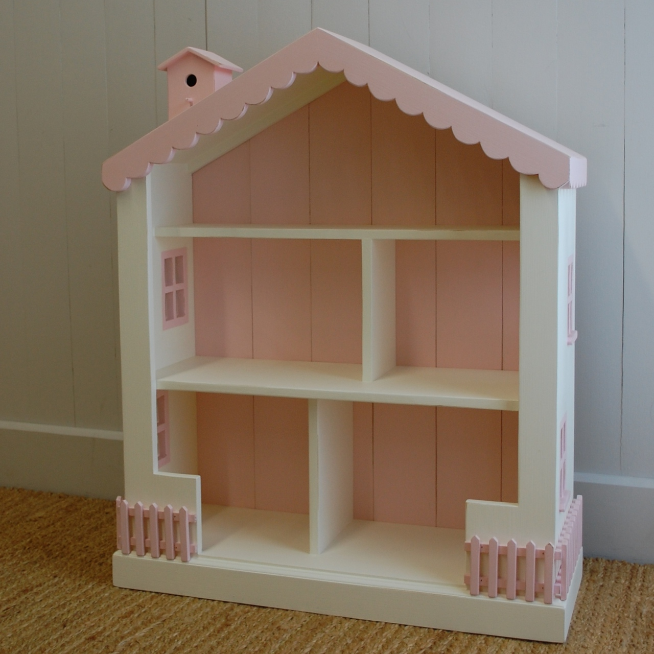 Image of: Cottage Dollhouse Bookcase