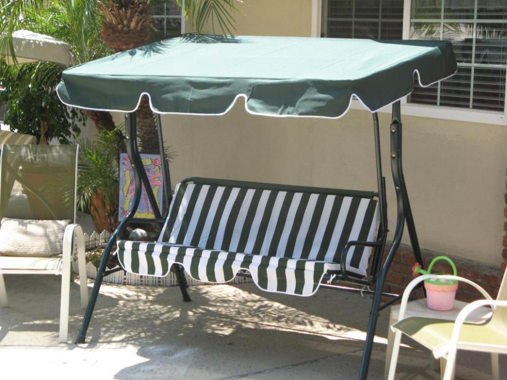 Image of: Cover For Outdoor Swing With Canopy