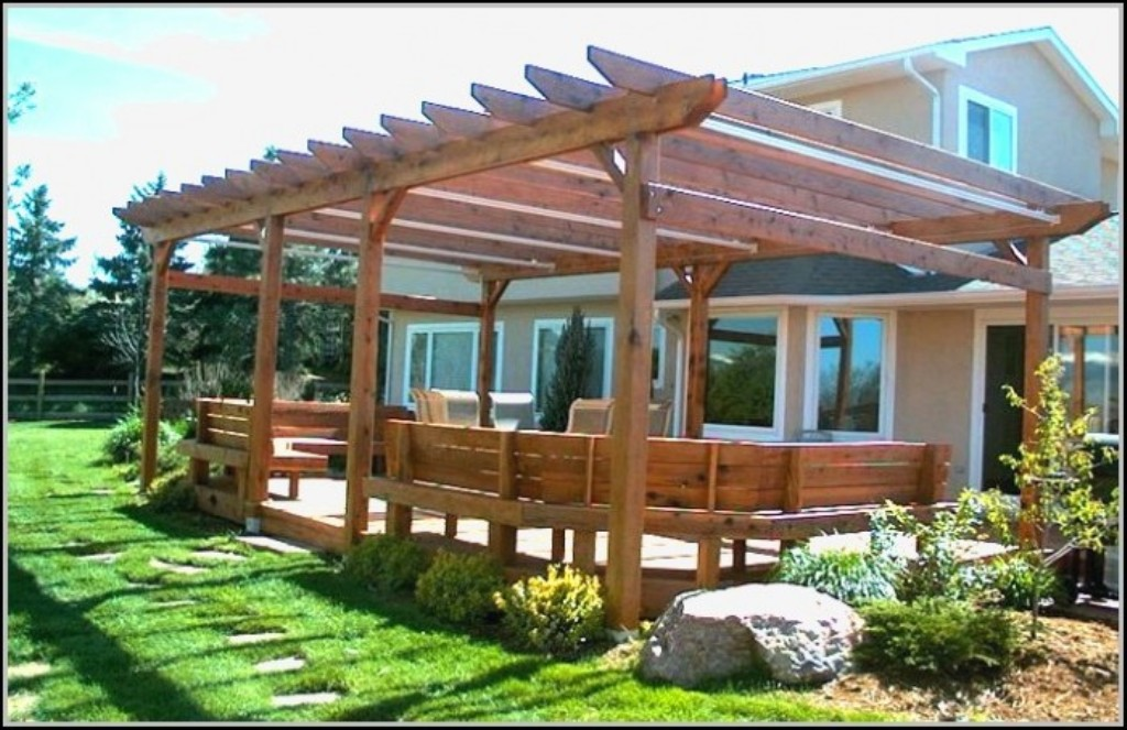 Image of: covered patio ideas galleries