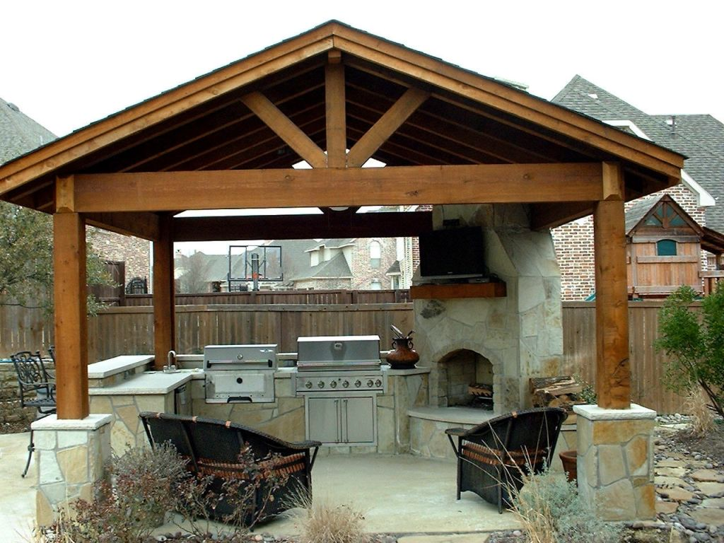 Image of: Covered Patio Ideas Photo