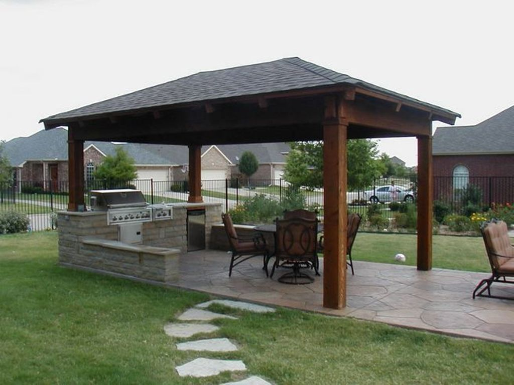 Image of: covered patio ideas pictures
