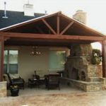 covered patio ideas and plans do it yourself