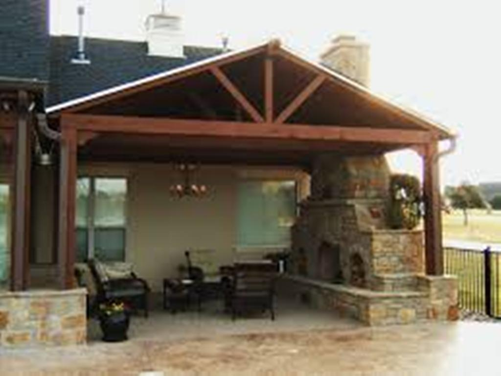 Image of: covered patio ideas and plans do it yourself