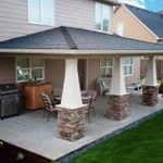 covered patio ideas for mobile homes