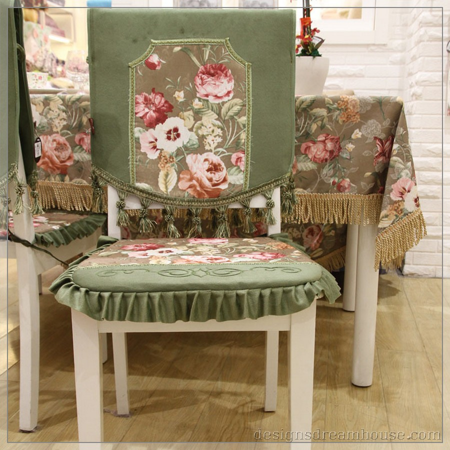 Image of: creative dining chair cushions