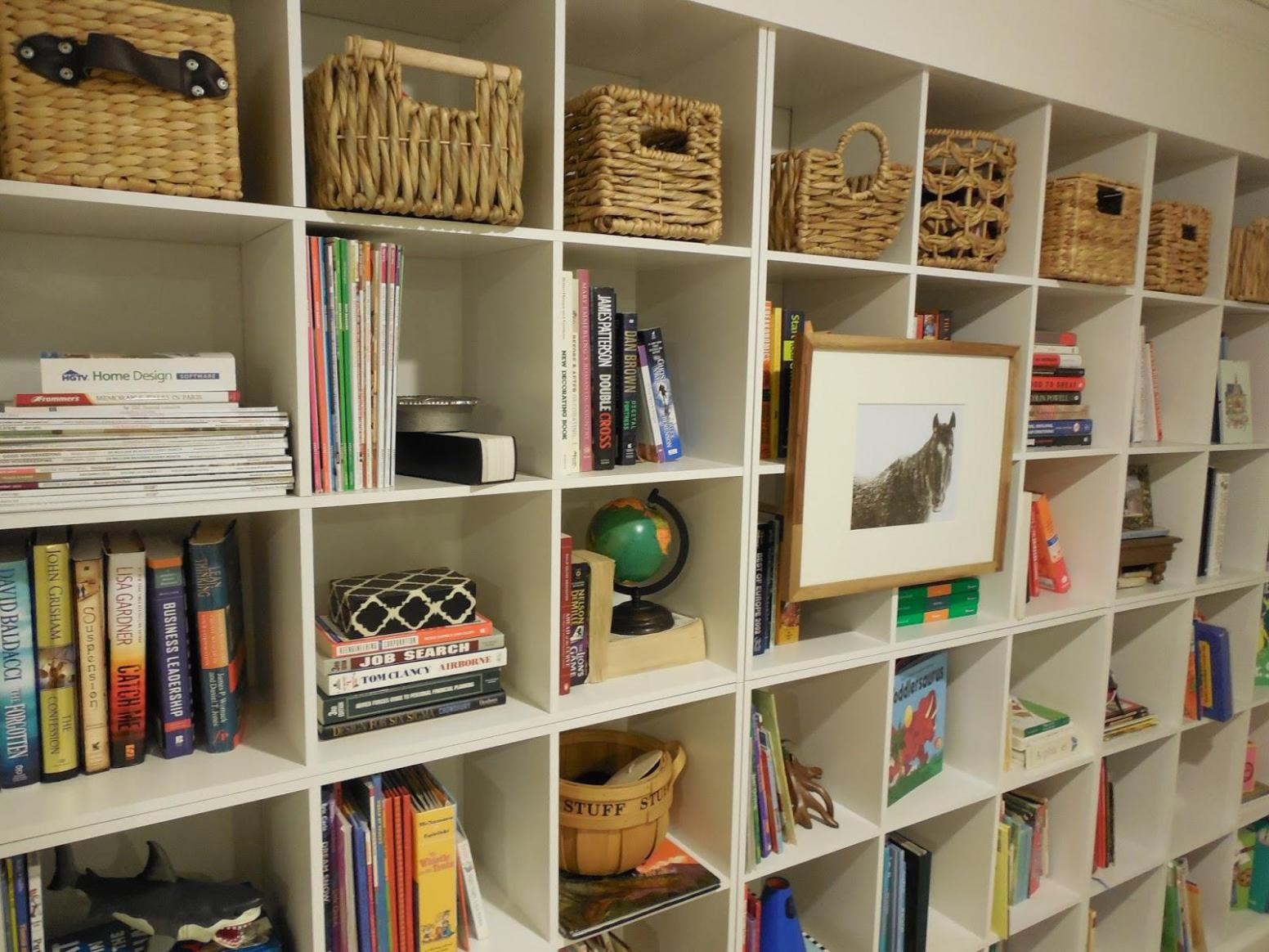 Image of: Cube Shelving Ideas