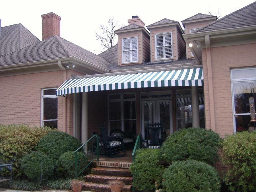 Image of: Custom Awning Covers