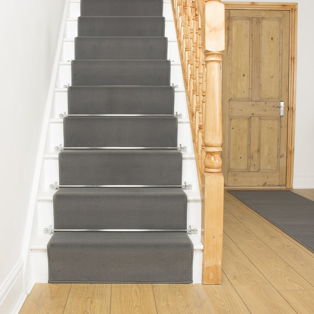 Image of: custom carpet runners for stairs