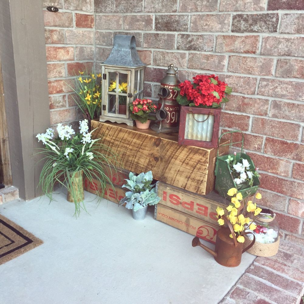 Image of: cute front porch ideas