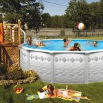 DIY Small Decks for Above Ground Pools
