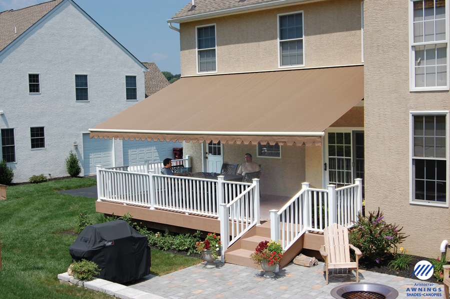 Image of: Deck Awnings Colors