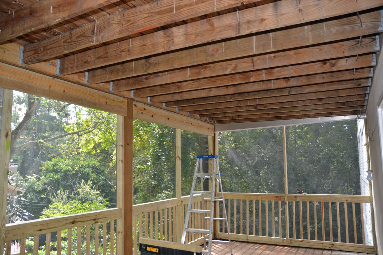 Image of: Deck Awnings Diy