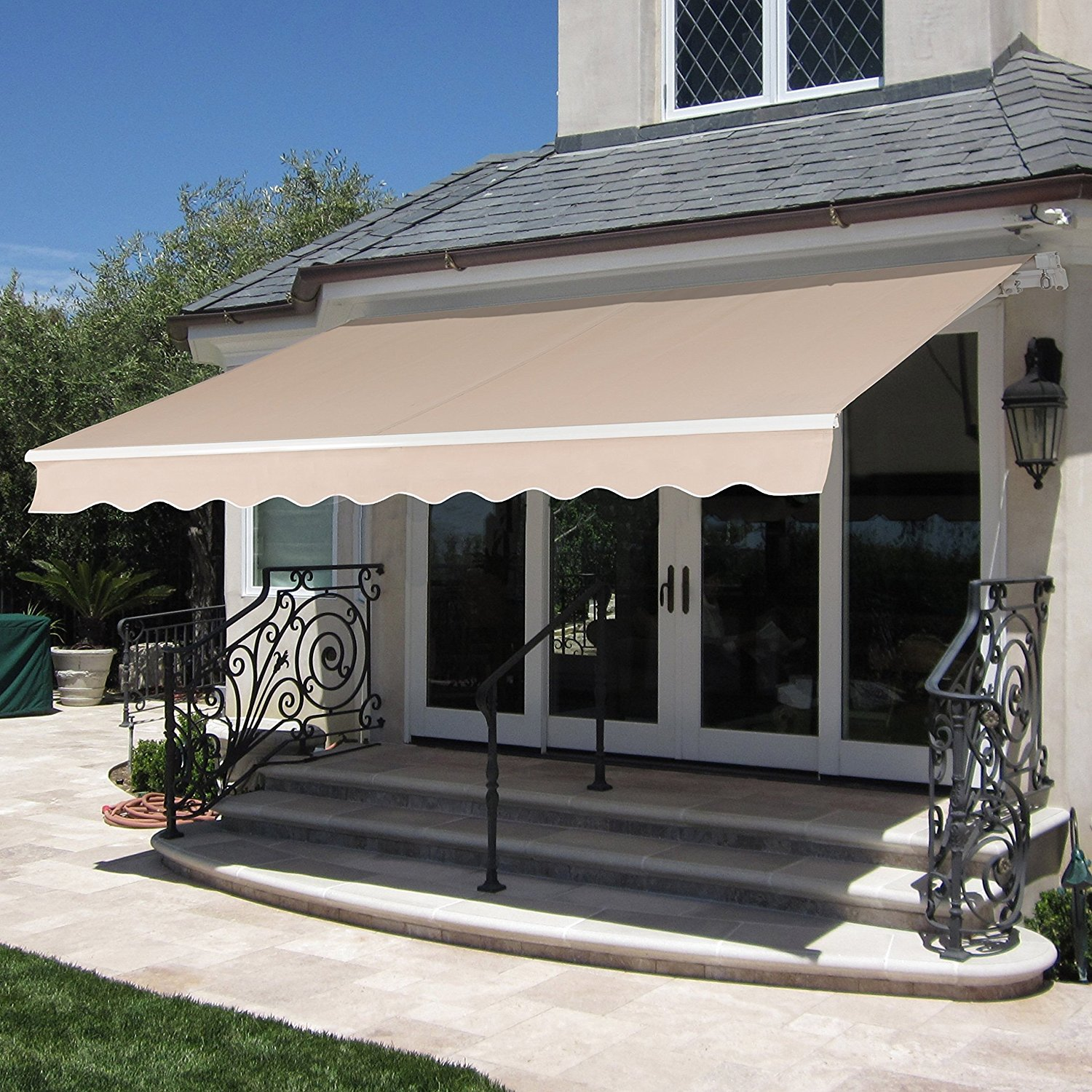 Image of: Deck Awnings Size