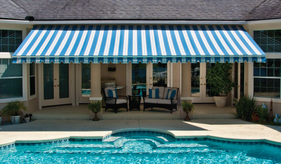 Deck Awnings Stripes
