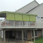 Deck Awnings in Green