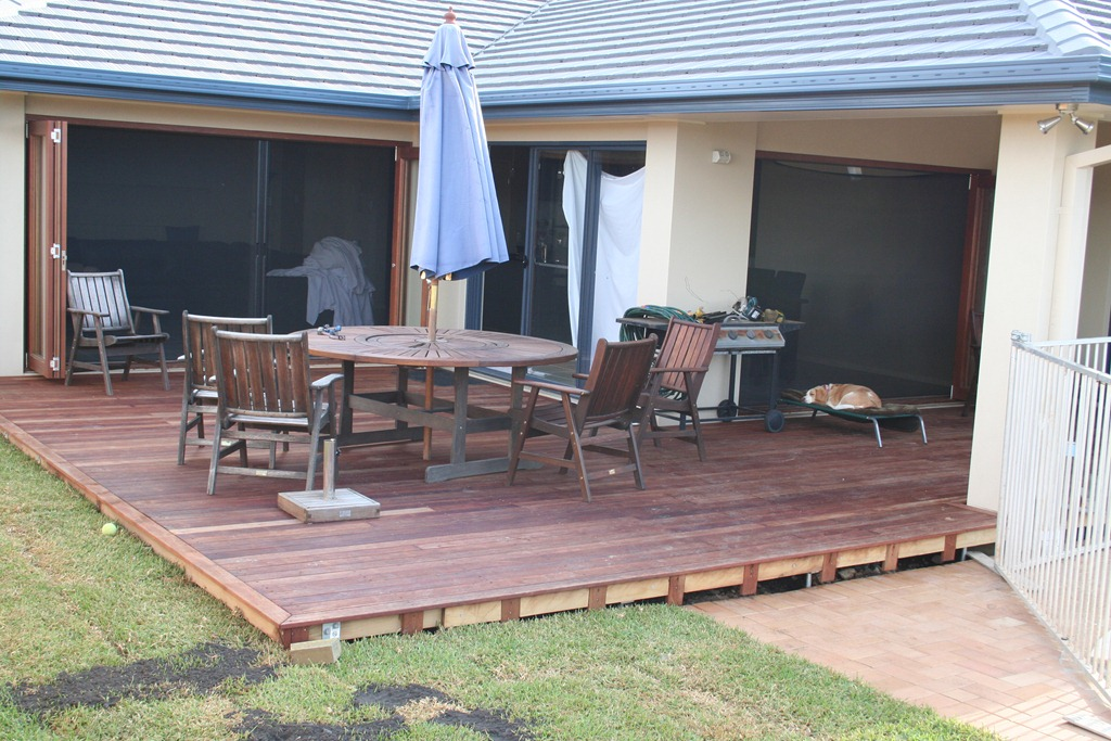 Image of: Deck Edging Picture
