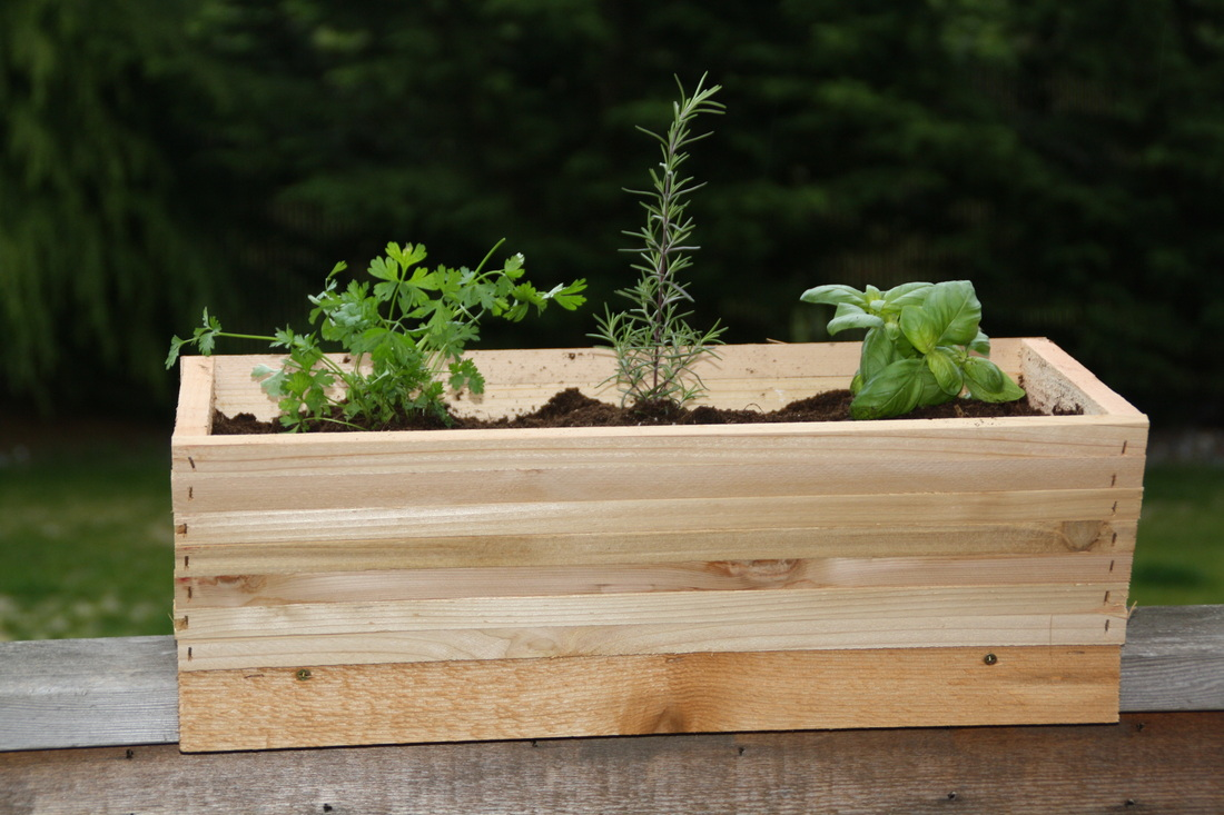 Image of: Deck Rail Planters in White Cheap