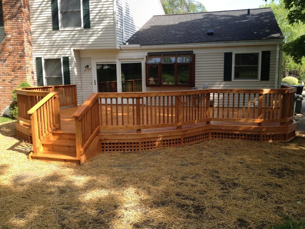 Image of: Deck Skirting Ideas