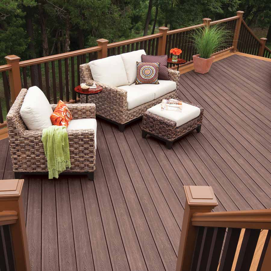 Image of: Deck Skirting Material Design