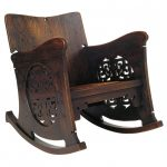 Decorating Classic Mission Style Rocking Chair