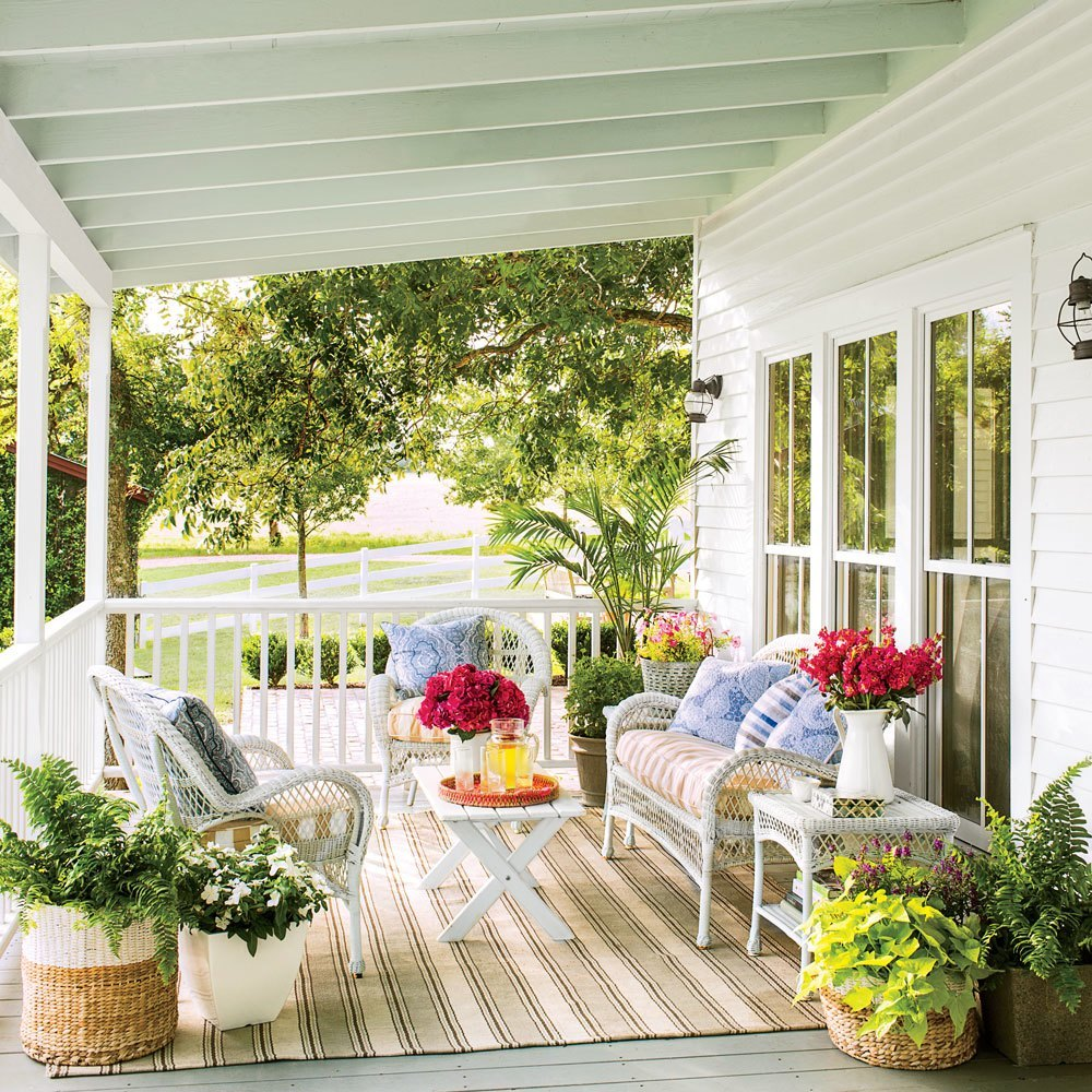 decorating front porch ideas