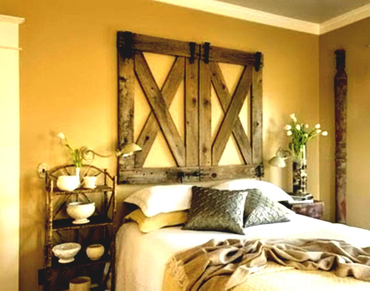 Image of: Decorating Ideas For A Rustic Bedroom