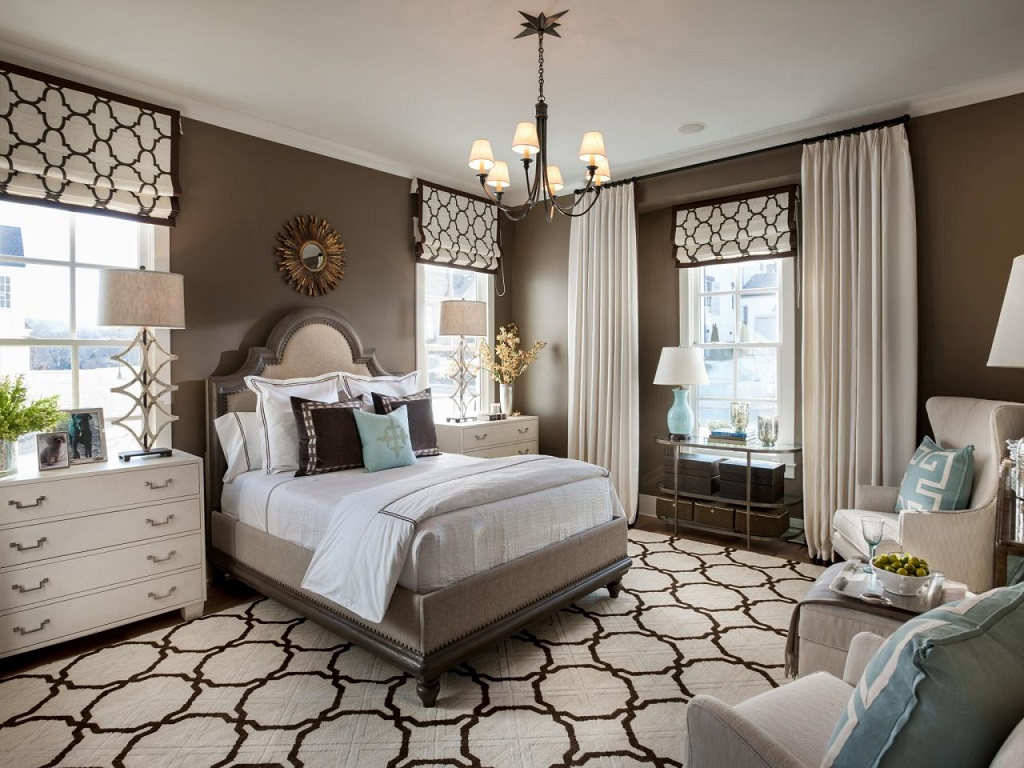 Image of: Decorating Master Bedroom Sitting Area