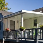 Decoration Aluminum Awnings for Decks