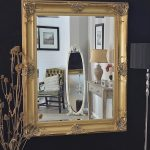Decorative Gold Framed Wall Mirror