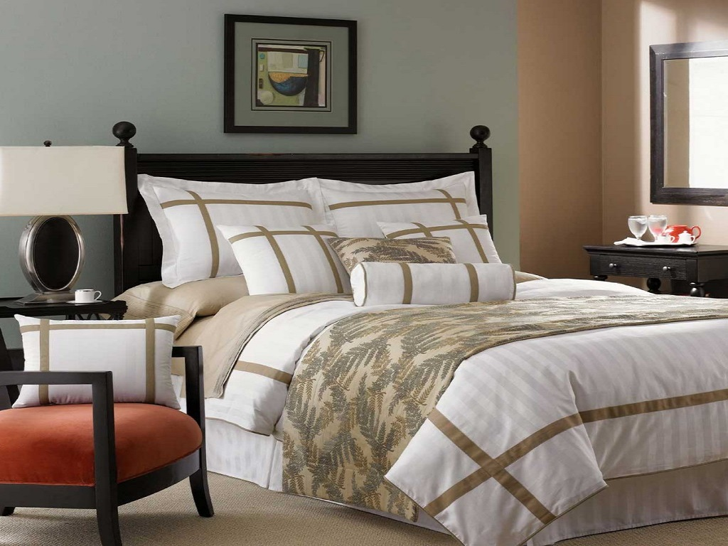 Image of: Decorative Pillows For Bed Uk