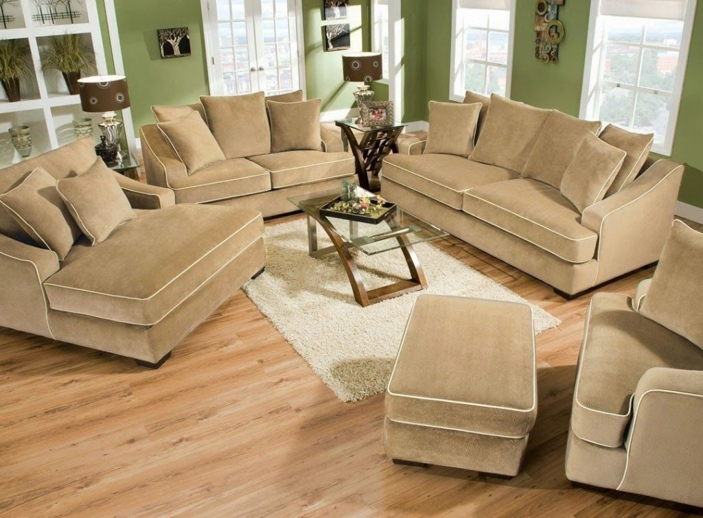 Image of: deep seated sofa low price