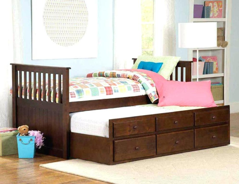 Image of: Design Kids Bed With Trundle