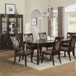 Dining Chairs with Casters and Arms